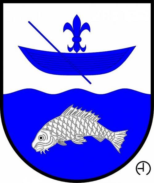 Znak obce Nadryby