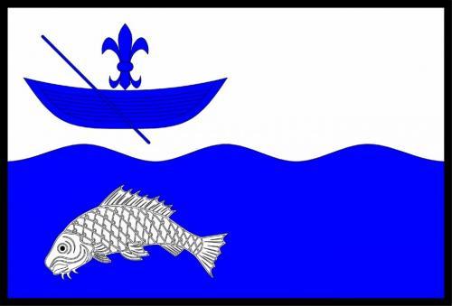 Vlajka obce Nadryby